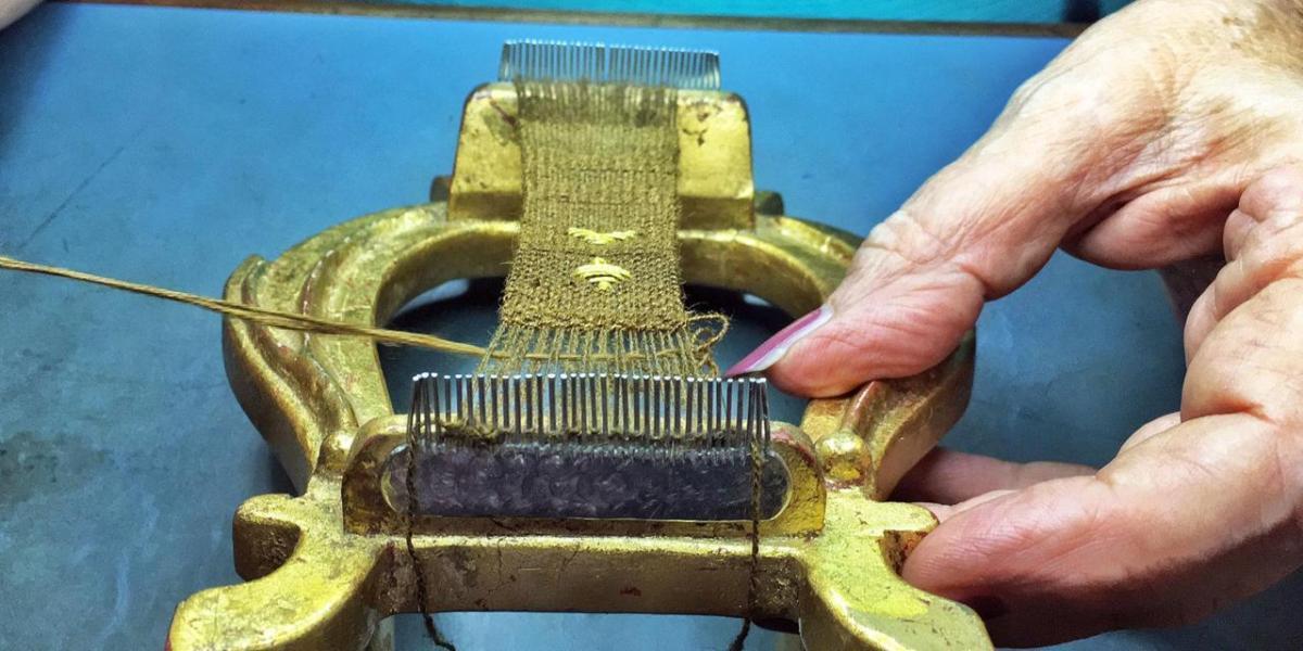 The last surviving sea silkweaver