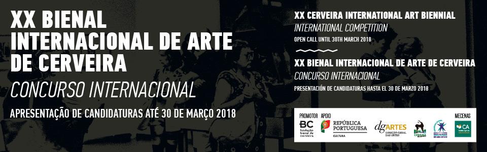 XX Cerveira Art Biennial | InternationalCompetition