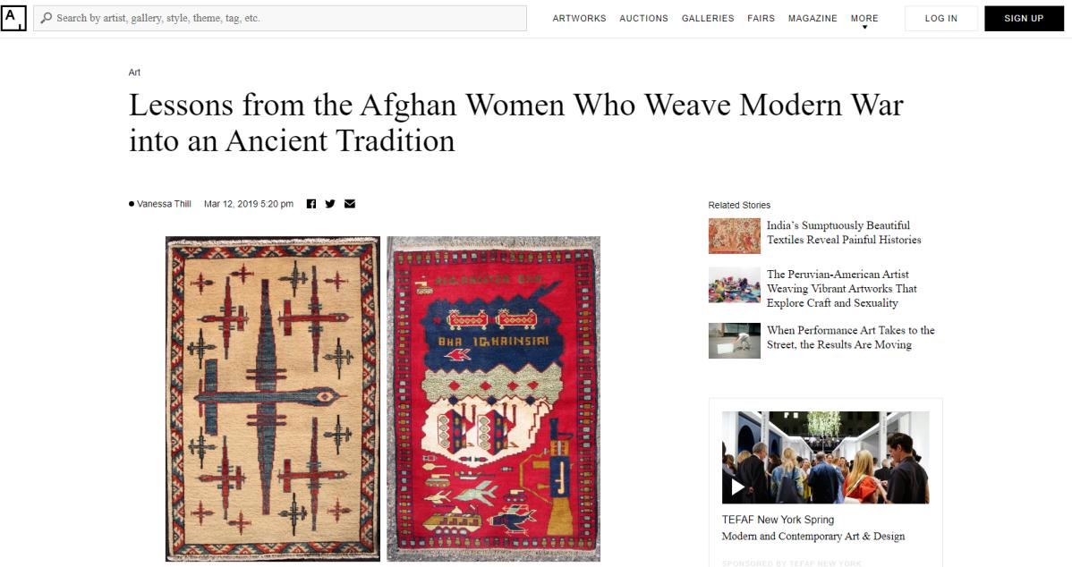 Women War Rugs fromAfghanistan